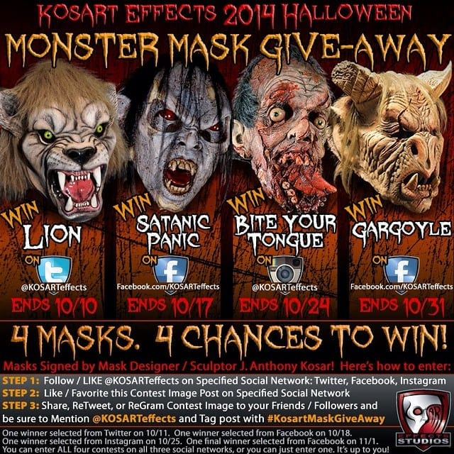 Kosart Effects Mask Giveaway