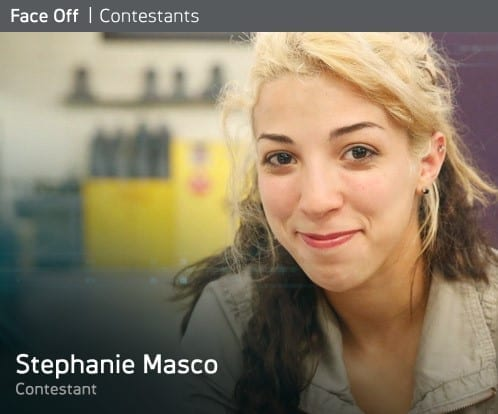 Stephanie Masco on Season 8 of Syfy's Face Off