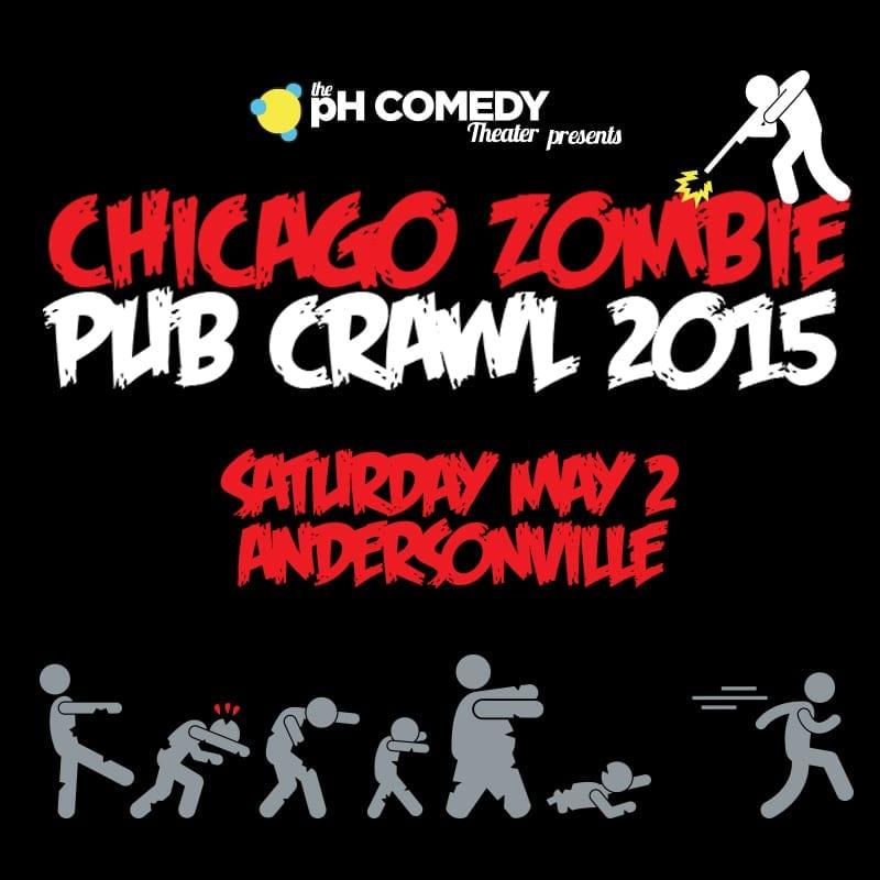 Chicago Zombie Pub Crawl 2015
