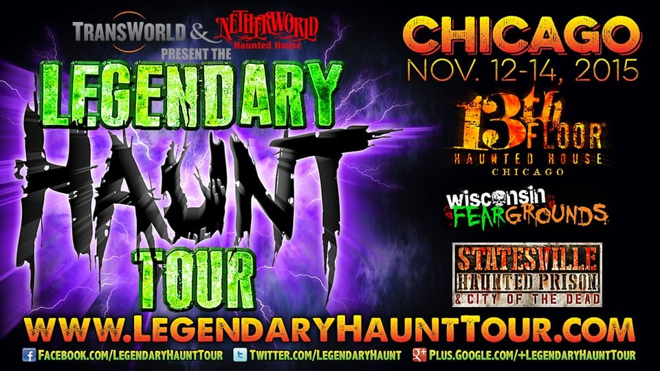 Legendary Haunt Tour: Chicago 2015