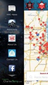 Haunt Chicago App Screenshot