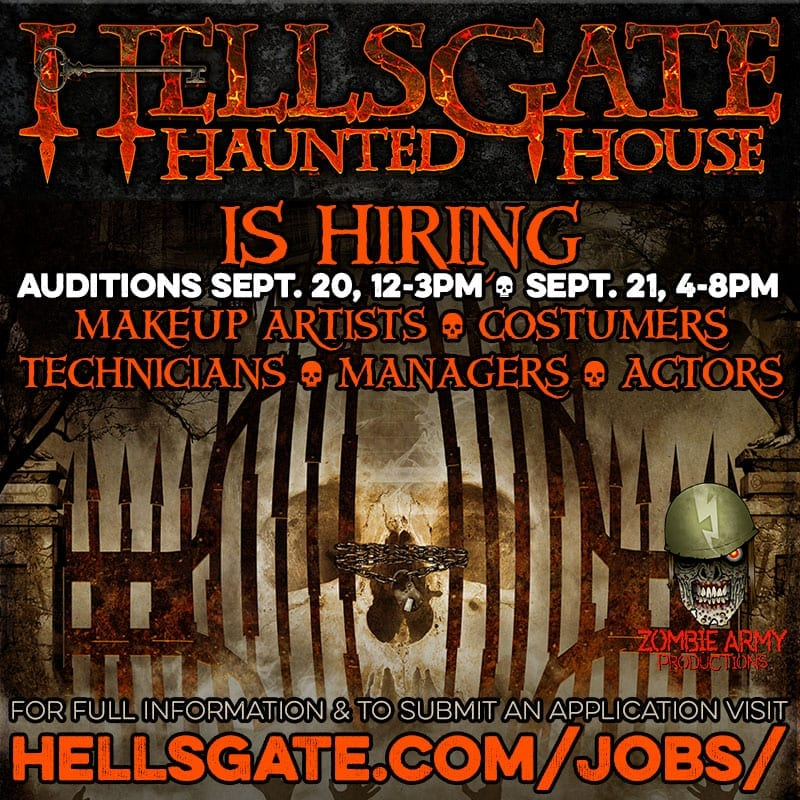 HellsGate Haunted House Auditions & Interviews