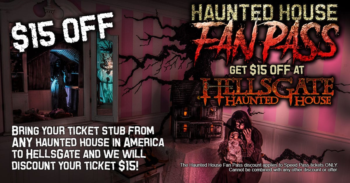 Haunted House Fan Pass