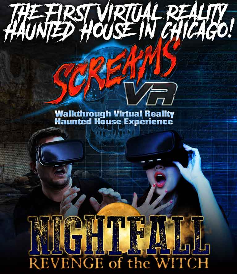 Screams virtual reality debuts at 13th floor haunted house for 13th floor haunted house chicago