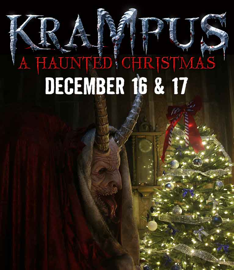 Krampus a haunted christmas comes to chicago december for 13th floor haunted house chicago