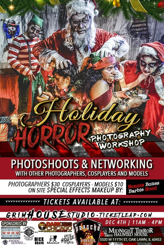 Holiday Horror Photography & Networking Workshop