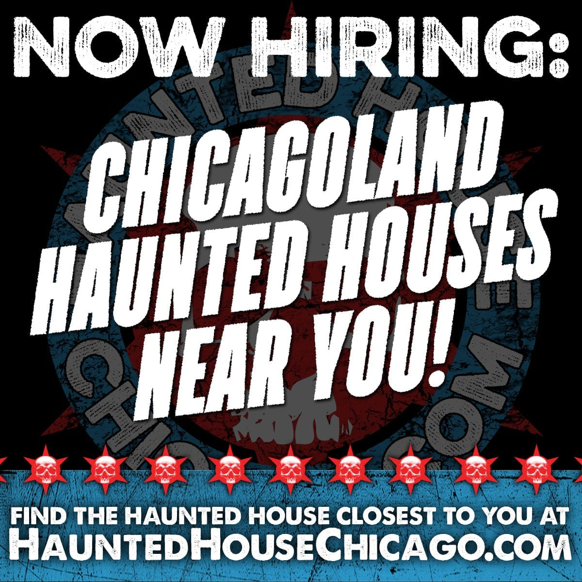 HAUNTED HOUSES NOW HIRING