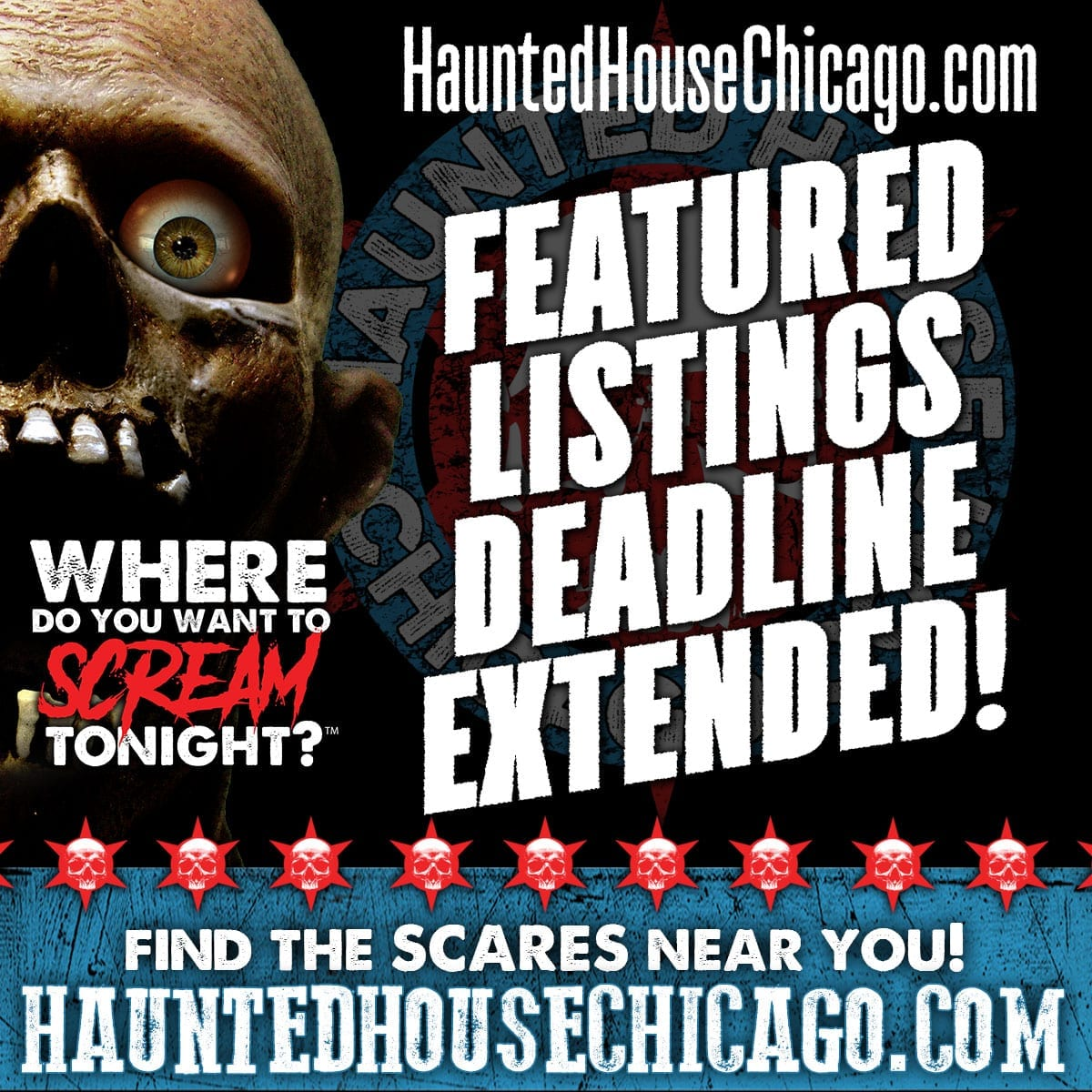 Featured Listing Early Bird Discount Deadline Extended