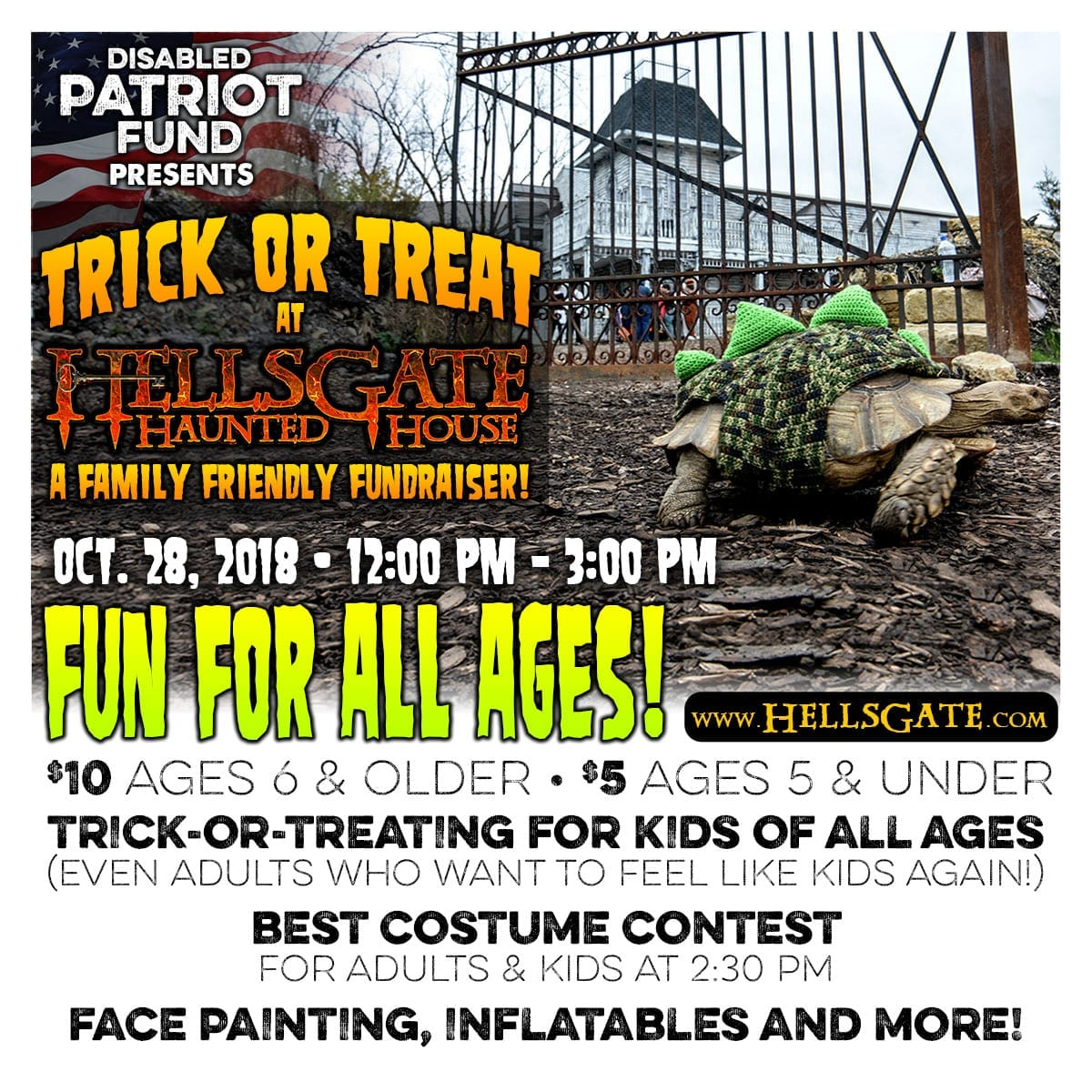 Trick or Treat at HellsGate