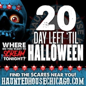 20 Days Left 'til Halloween!