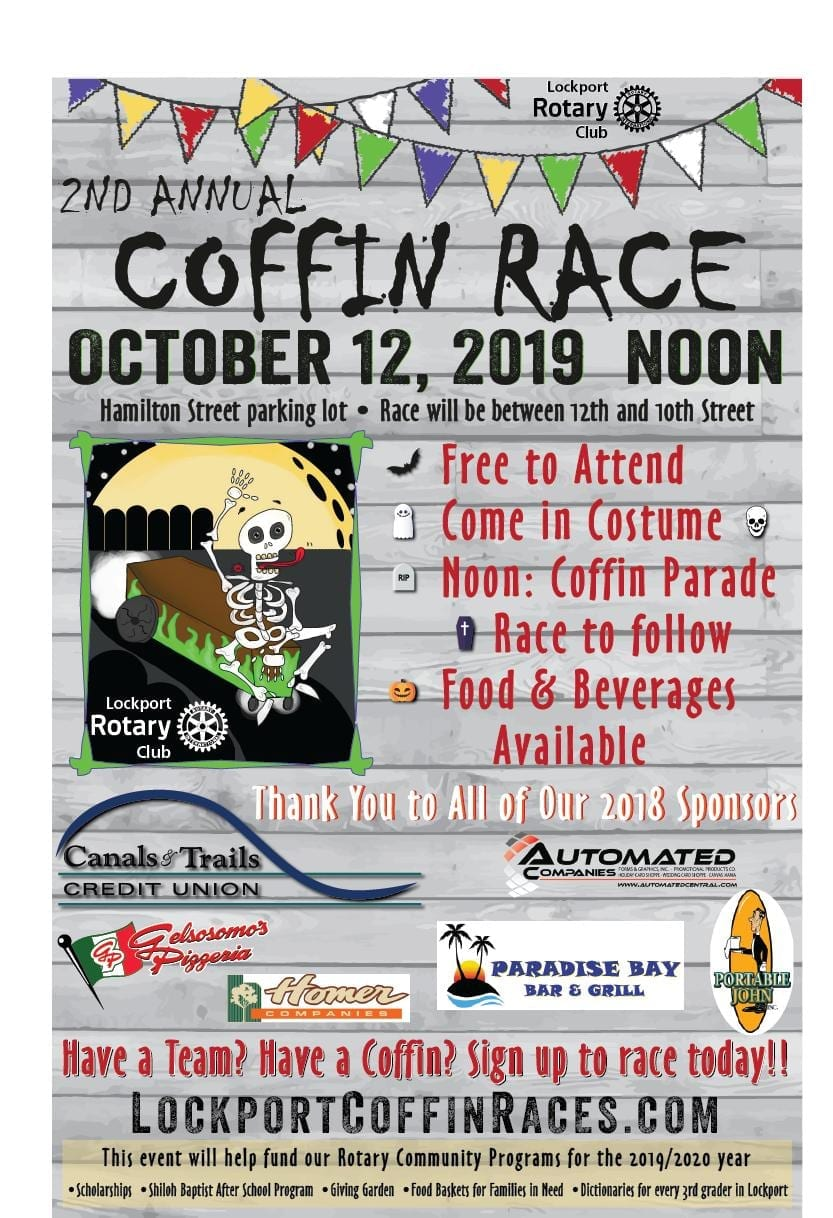 2nd Annual Lockport Coffin Race Festival